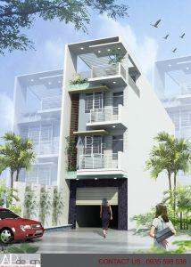 Thiết kế nhà phố Nguyễn Tri Phương - Quận 2