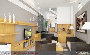 Thiết kế nội thất nhà anh Châu Tuấn Anh