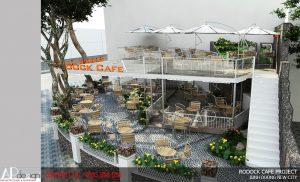 Thiết kế Quán cafe Roooock