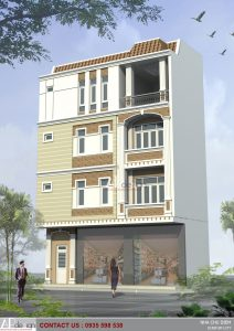 Thiết kế nhà phố cổ điển chú Diệm - Kon Tum
