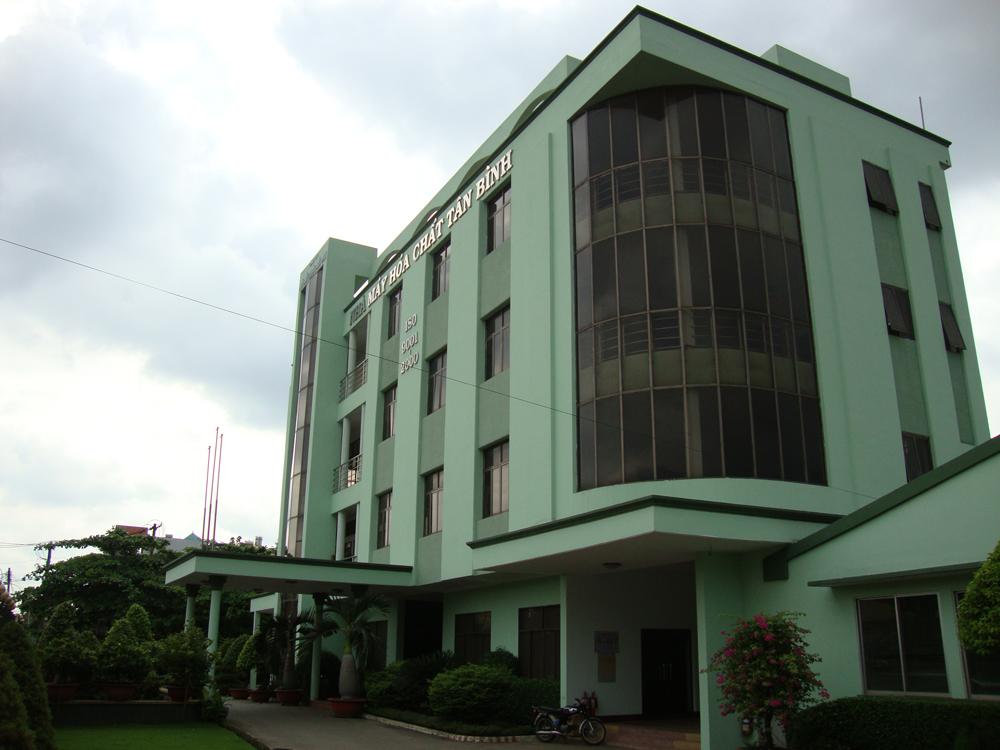 Thiết kế cải tạo Văn phòng làm việc nhà may hóa chất Tân Bình