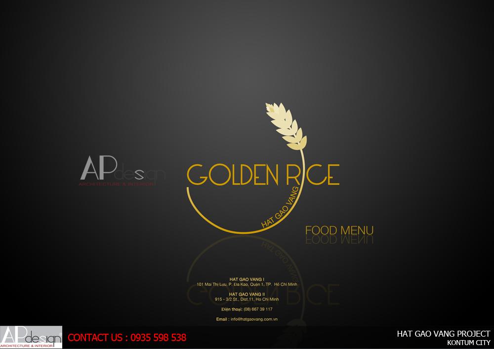 Thiết kế Nhà hàng bánh cuốn Hạt Gạo Vàng