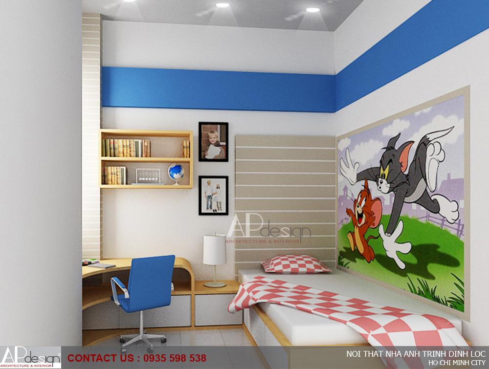 Thiết kế nội thất nhà anh Trịnh Đình Lộc