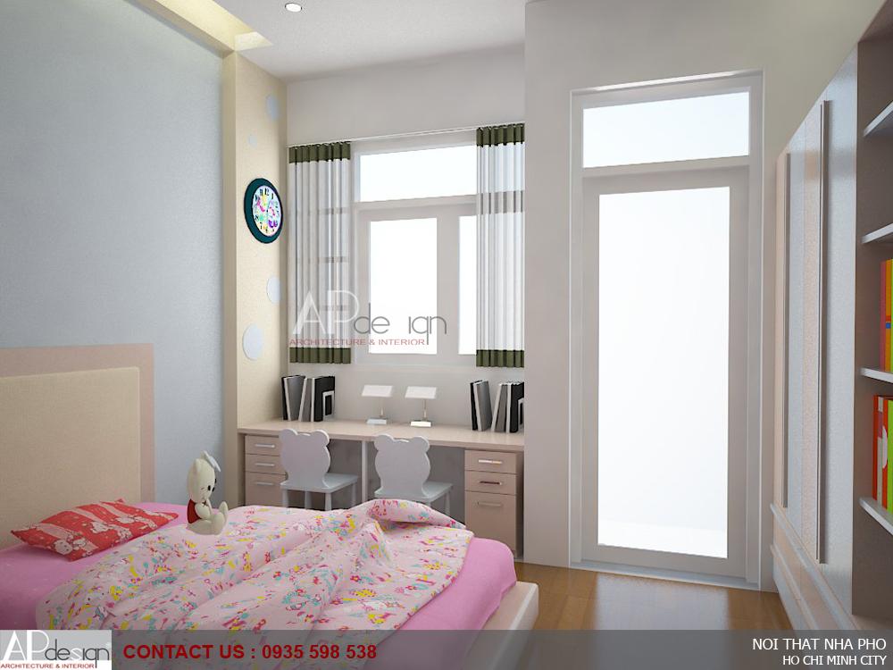 Thiết kế nội thất nhà phố anh Châu Tuấn Anh