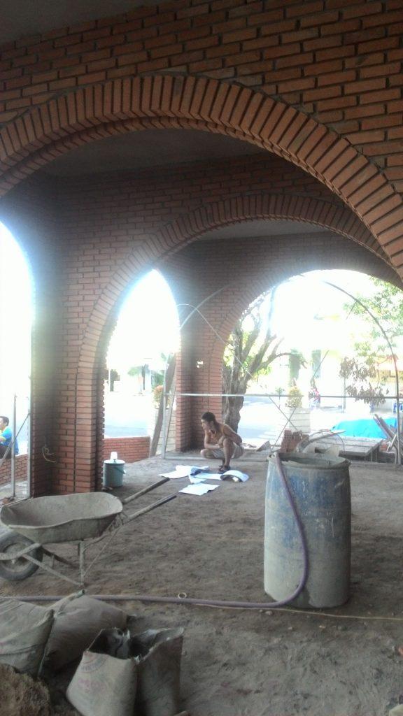 Thi công quán cafe sân vườn Narcos