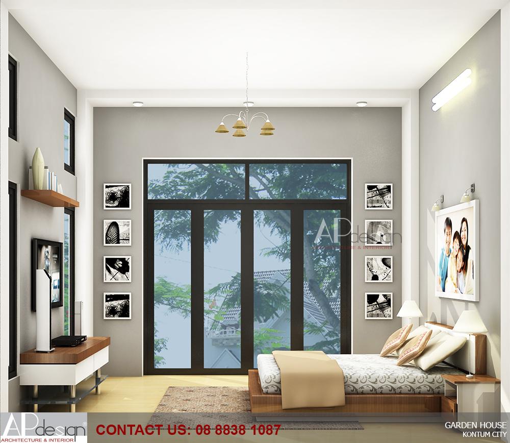 thiết kế nội thất phòng ngủ vợ chồng