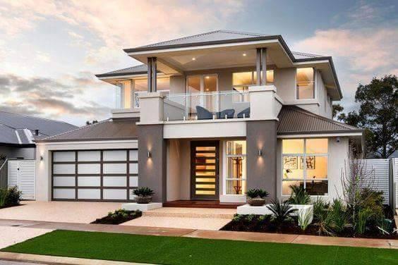 Thiết kế biệt thự hiện đại mái ngói