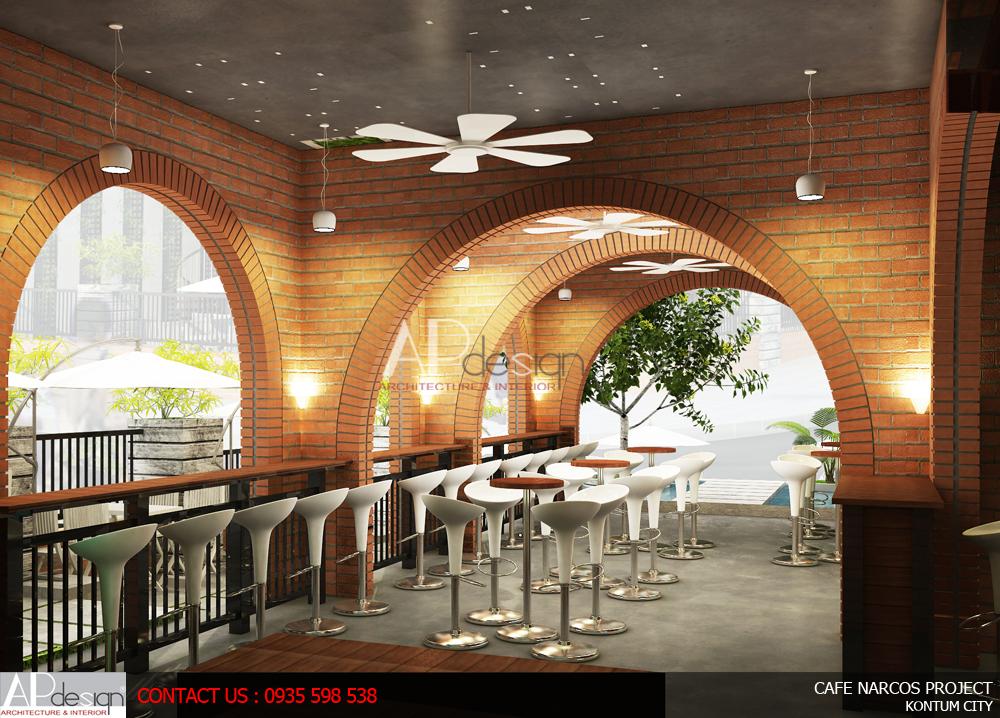Thiết kế quán cafe Đà Lạt