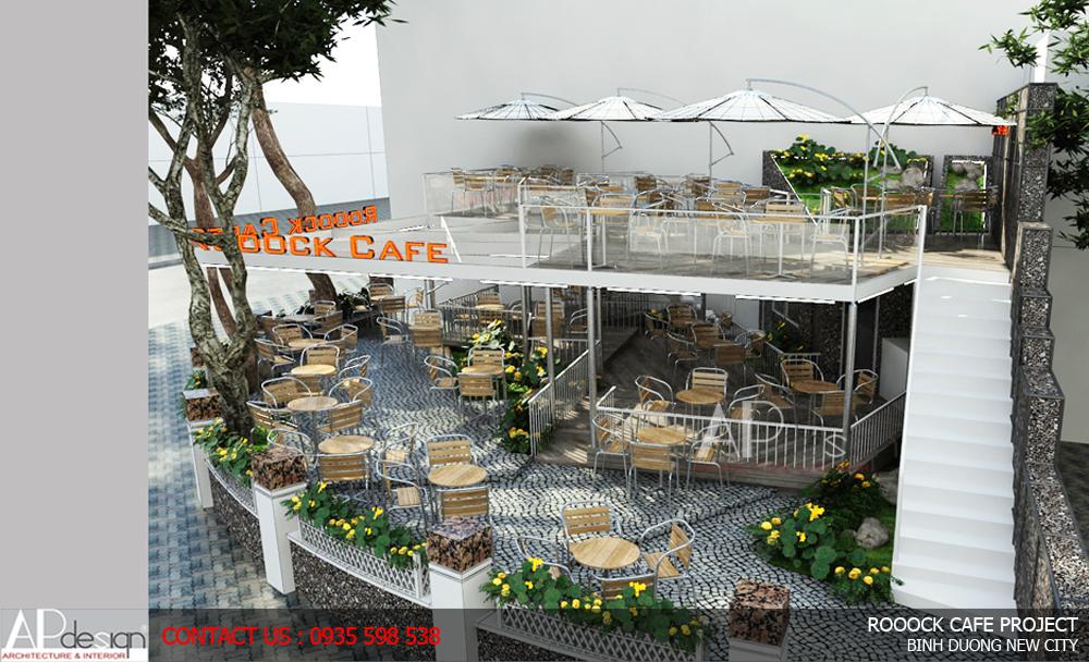 Thiết kế quán cafe Bình Phước
