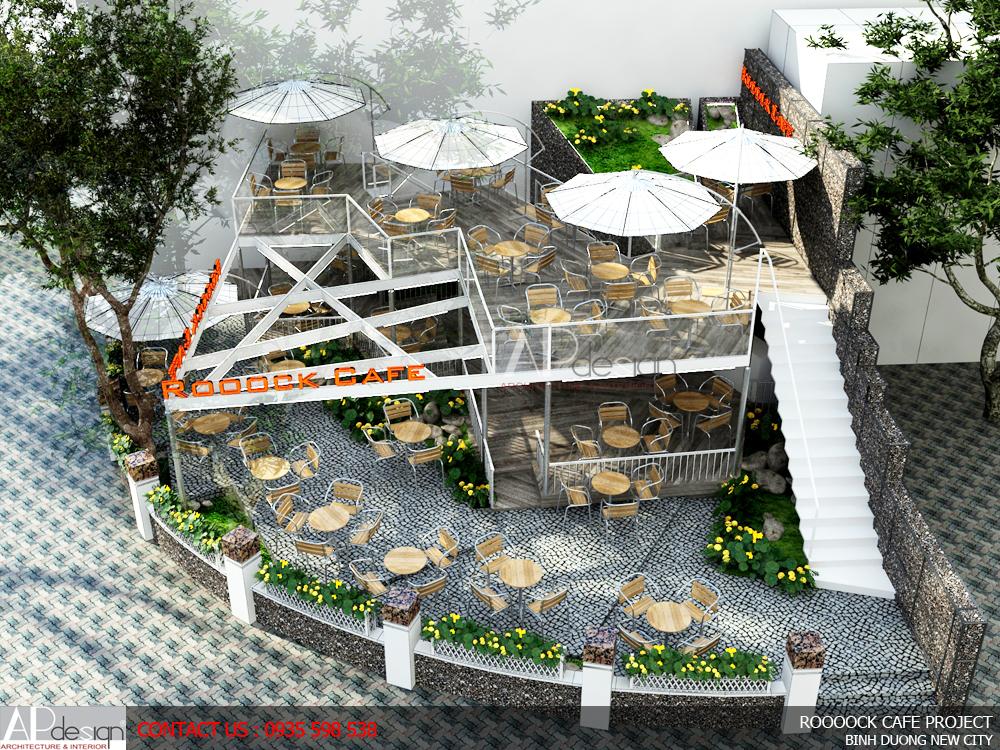 Thiết kế quán cafe Bình Dương