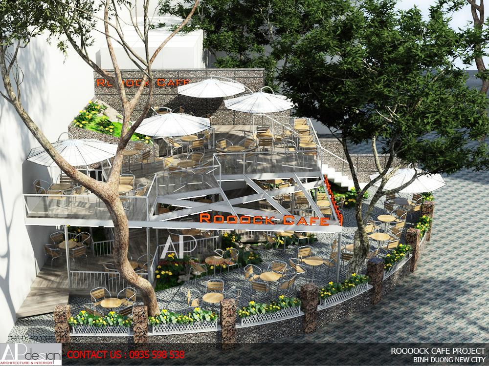 Thiết kế quán cafe Buôn Ma Thuột