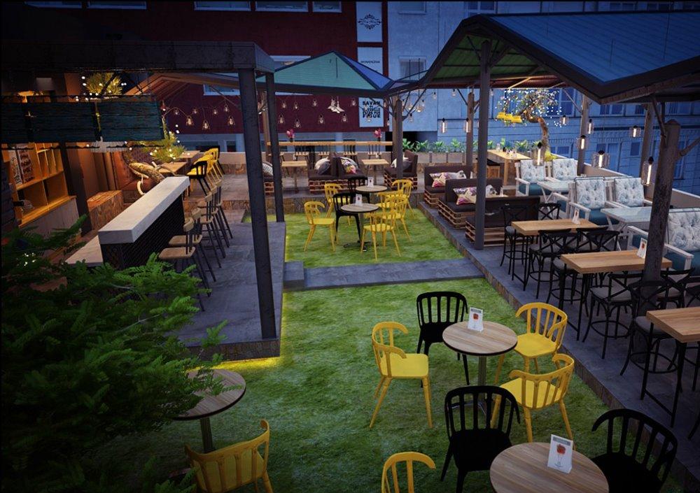Thiết kế quán cafe Gò Vấp