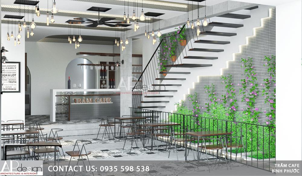 Thiết kế quán cafe Quận 12