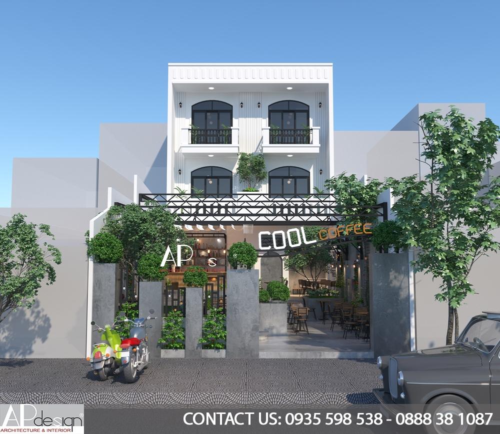 Thiết kế quán cafe Quận 11