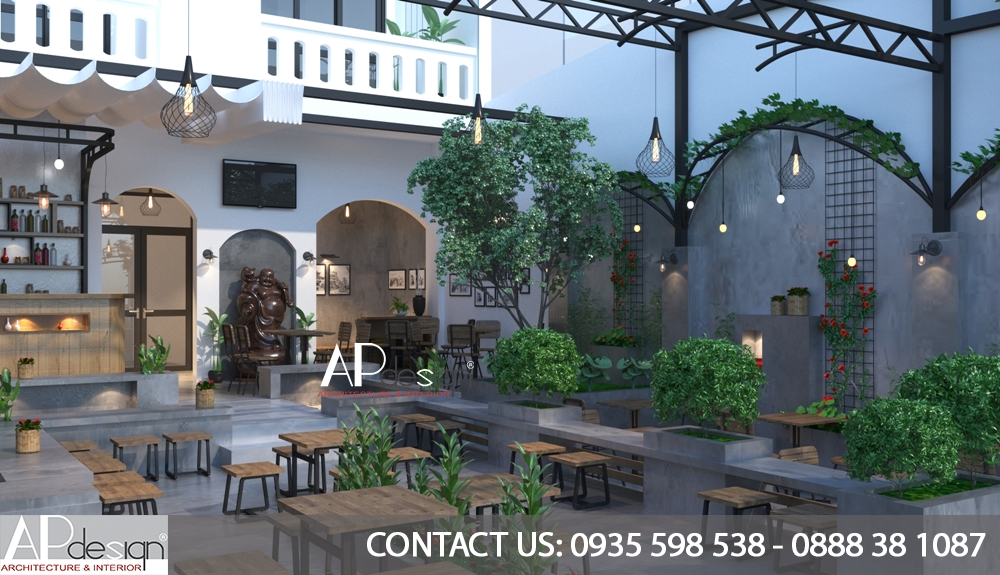Thiết kế quán cafe Quận 10