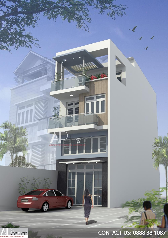 Thiết kế nhà phố ngang 6m