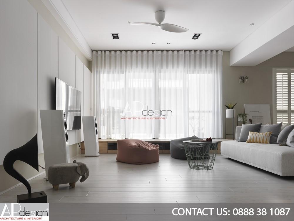 Thiết kế nội thất chung cư Tân Phú