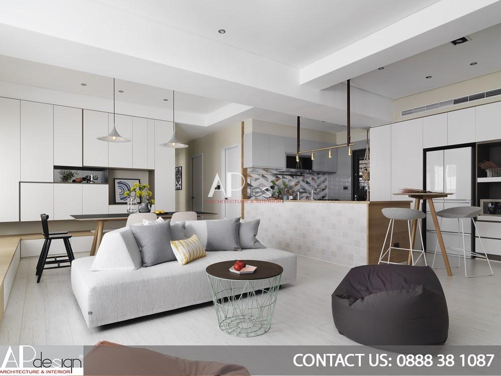 Thiết kế nội thất chung cư Tân Bình