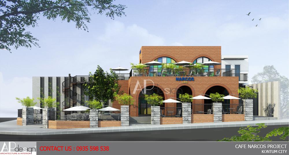 Thiết kế quán cafe Quận 9