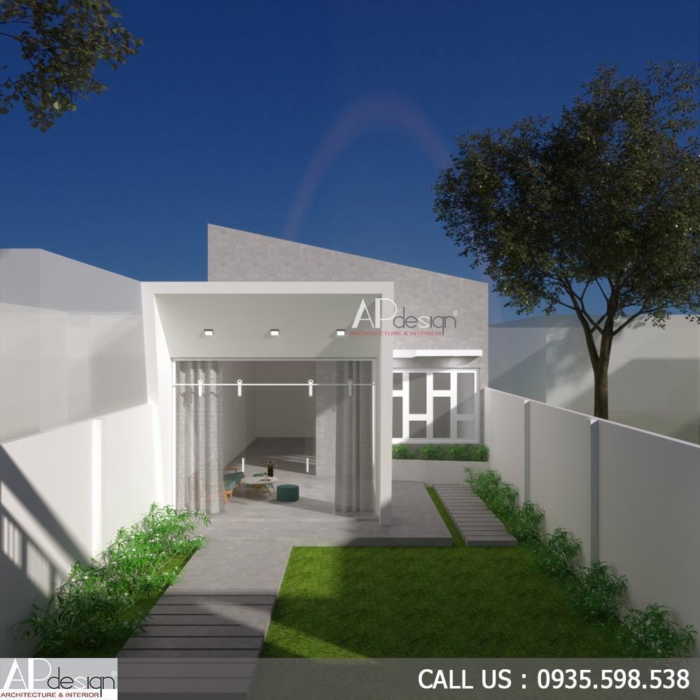 Thiết kế nhà cấp 4 7x15m