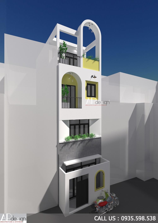 Thiết kế nhà không ban công