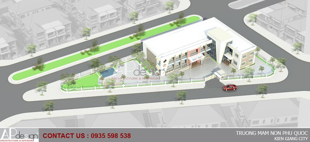 Thiết kế nhà trẻ Phú Quốc - Kiên Giang