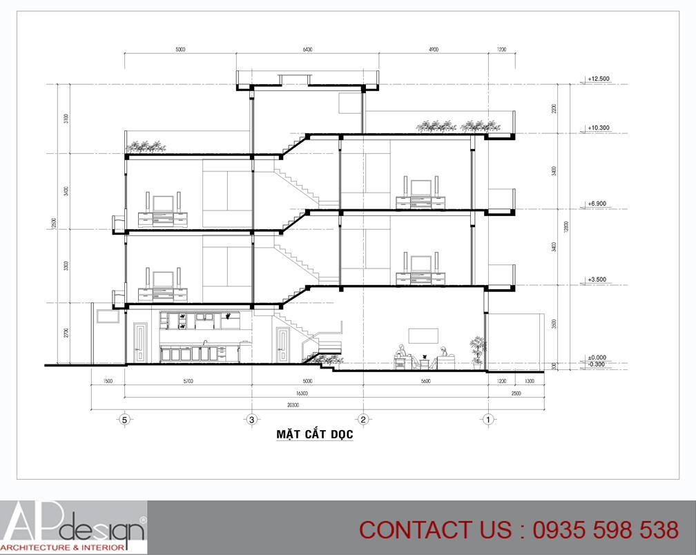 Thiết kế nhà phố Đặng Văn Điệp - Tân Bình
