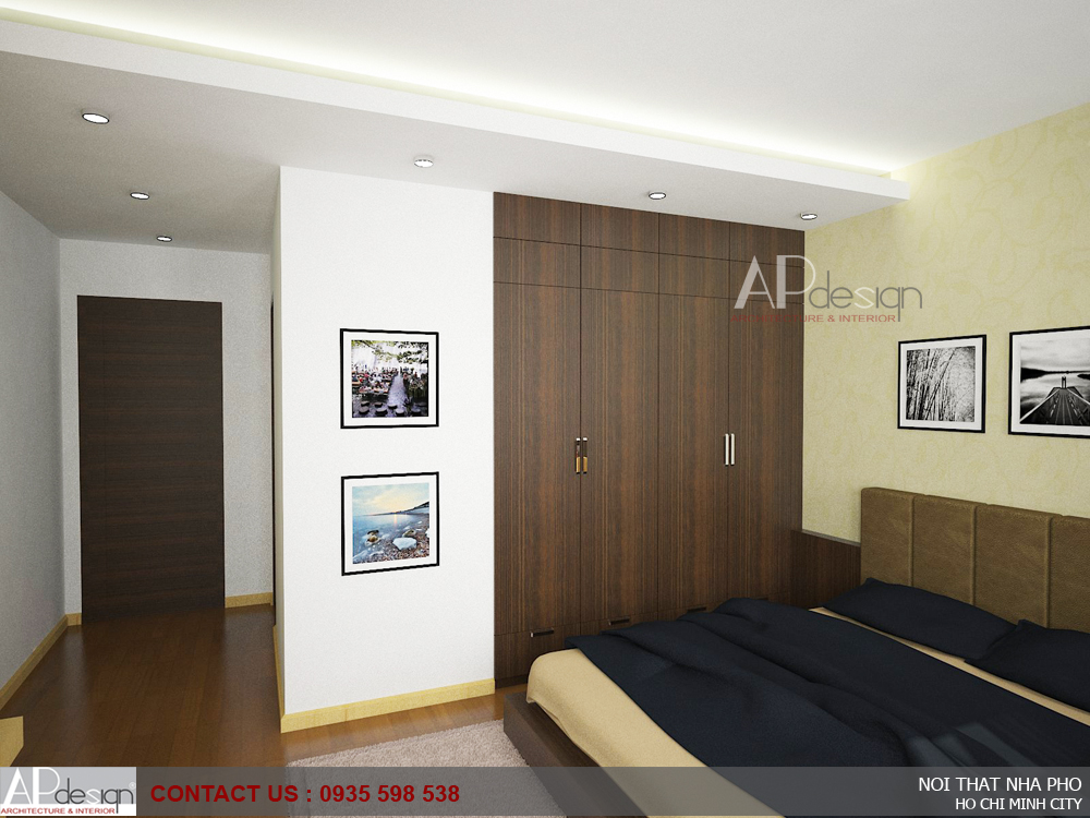 Thiết kế nội thất nhà anh Trần Trường Sơn