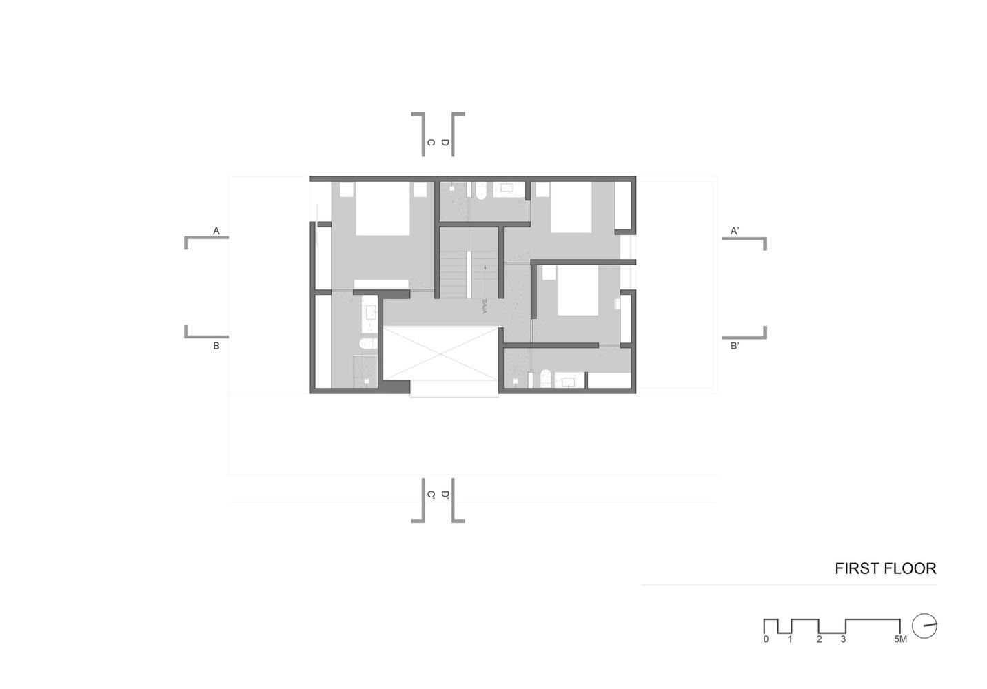 Mẫu thiết kế nhà phố 2 tầng đẹp mang đậm chất Tây