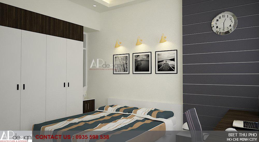 Thiết kế biệt thự phố 7 x 16 quận Gò Vấp