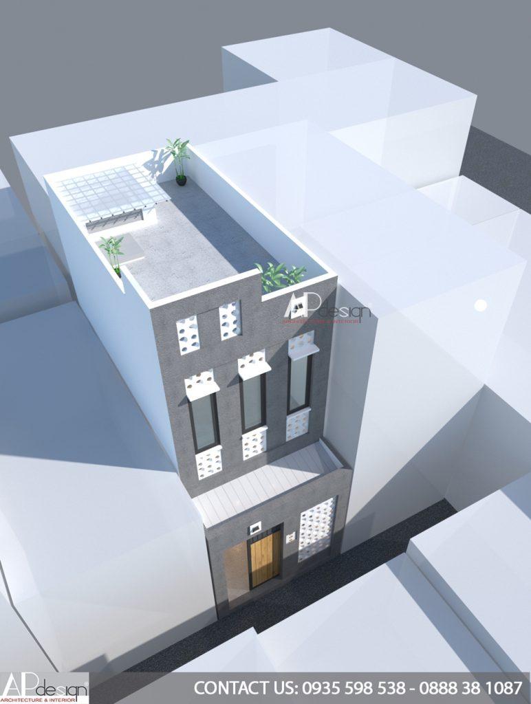 Thiết kế nhà hẻm nhỏ