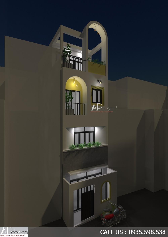 Thiết kế nhà 4x6m