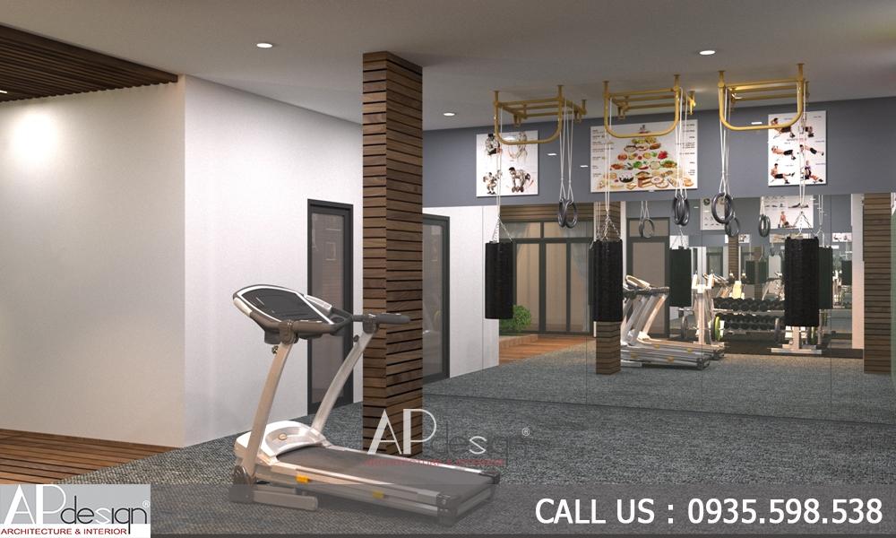 Thiết kế nội thất phòng GYM