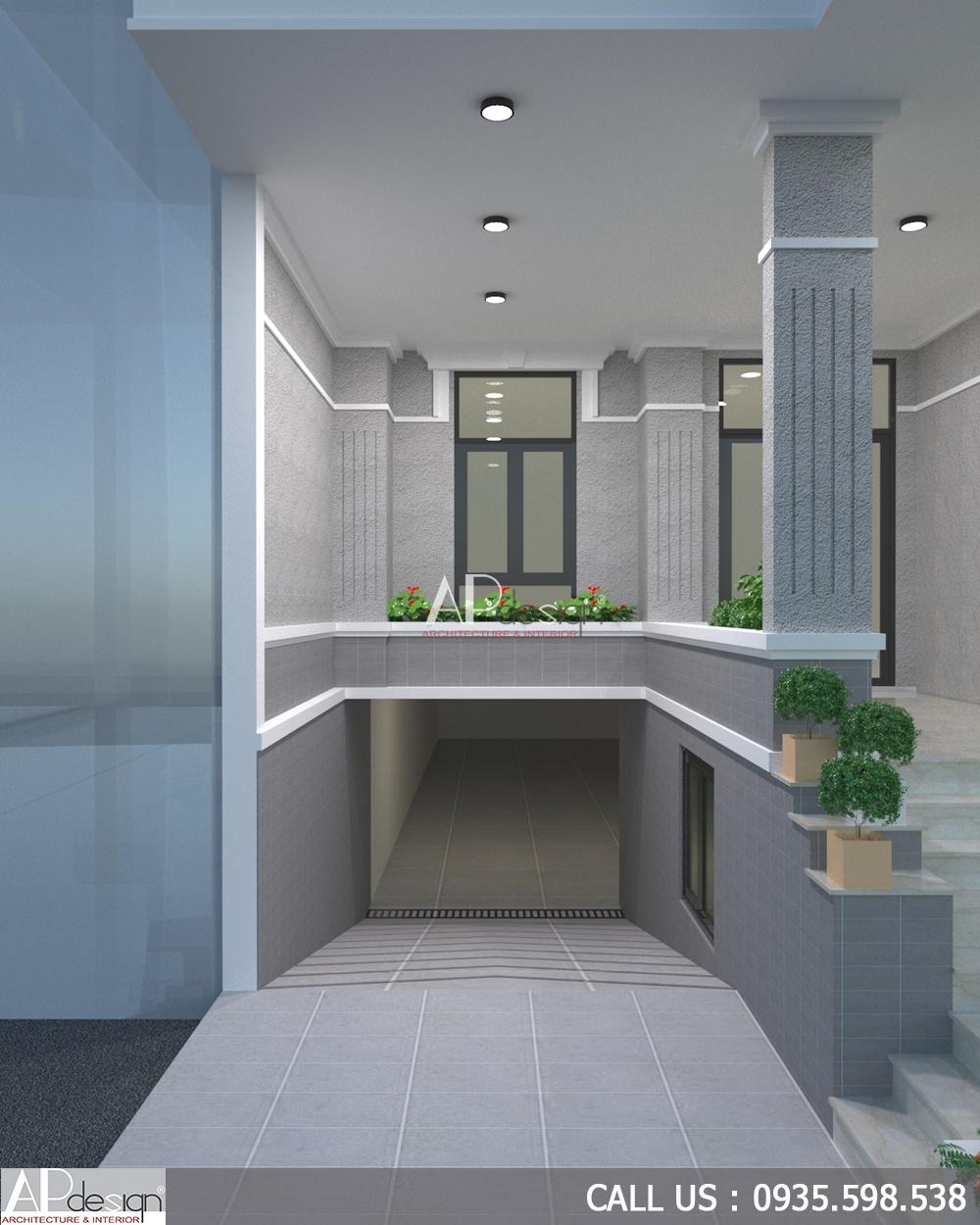 Thiết kế chung cư mini cho thuê 8x15m