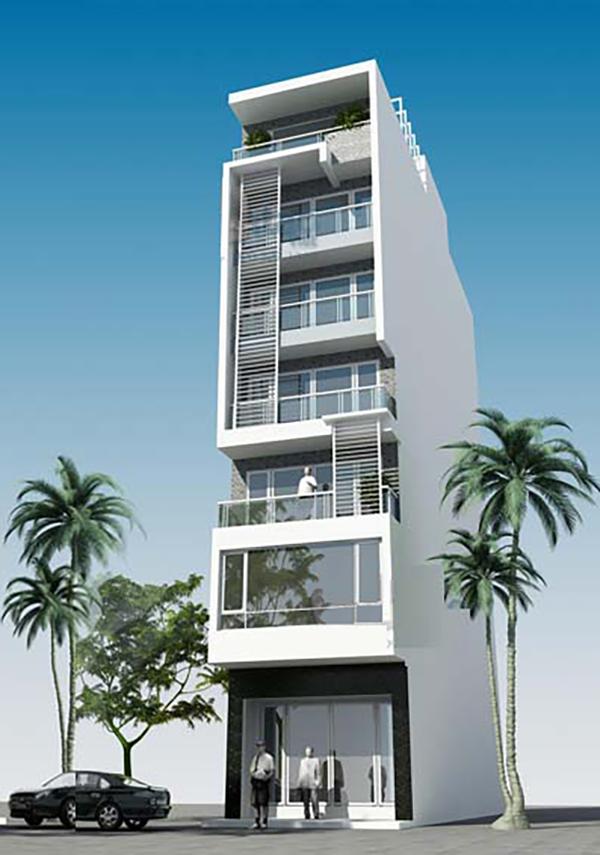 Thiết kế chung cư mini 100m2