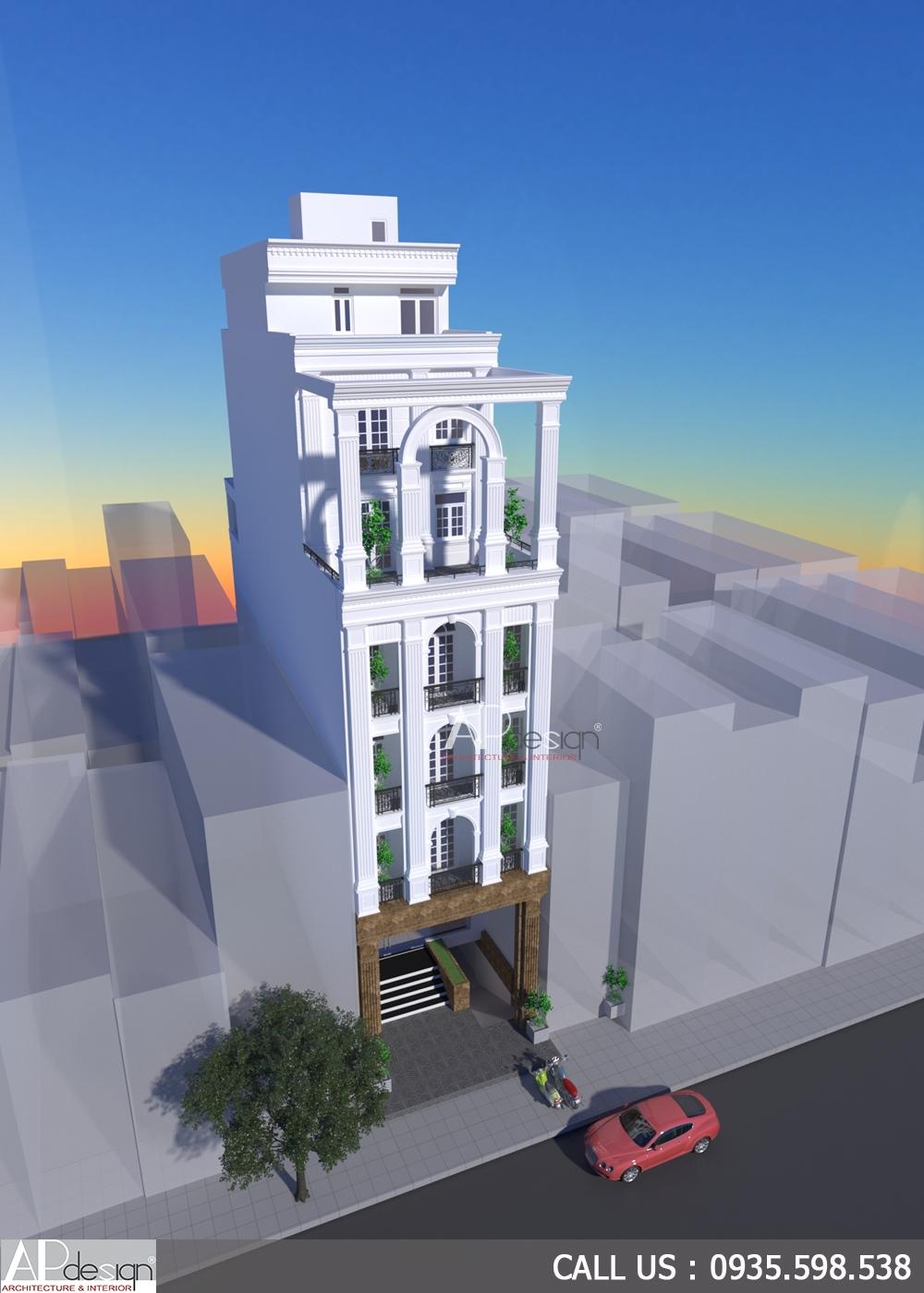 Thiết kế chung cư mini 200m2