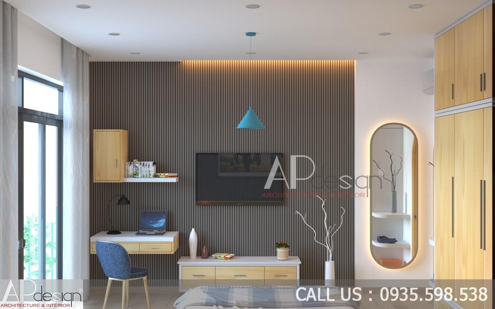 nội thất Nhà phố thiết kế lam tránh nắng